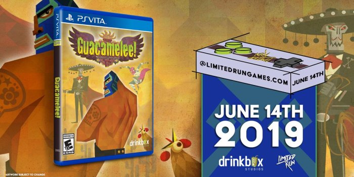 Guacamelee PS Vita Limited Run