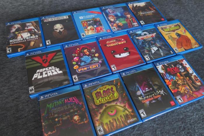 Jeux PS Vita Limited Run E3 2019