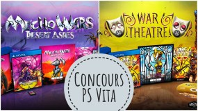 Concours Mecho Wars Desert Ashes & War Theatre PS Vita