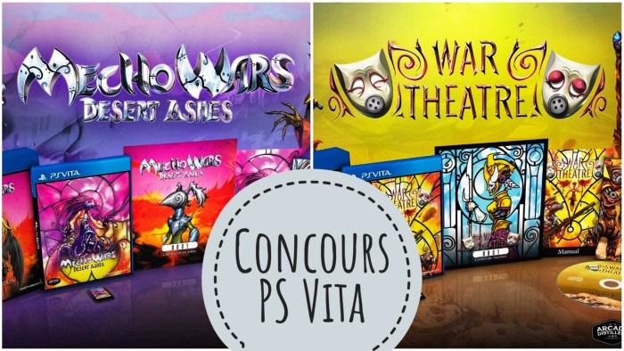Concours Mecho Wars Desert Ashes & War Theatre PS Vita
