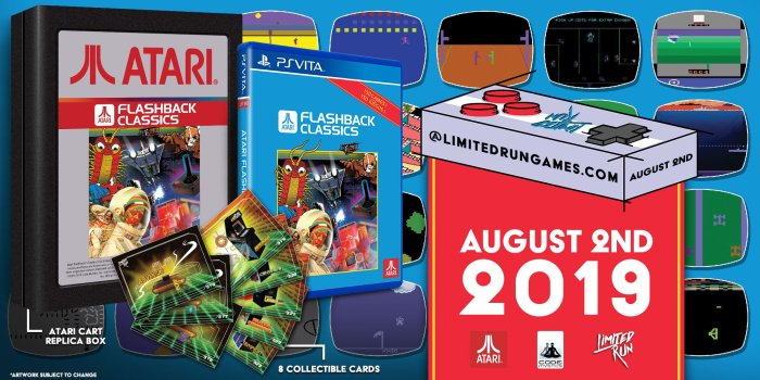 Atari Flashback Classics - Collector PS Vita