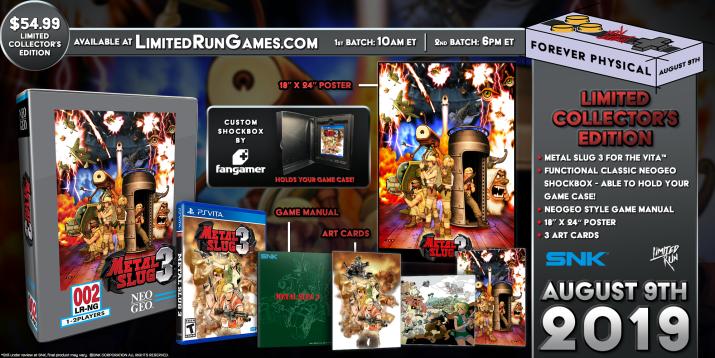 Limited Run PS Vita & PS4