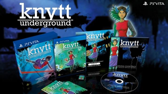 Knytt Underground est disponible à la précommande en édition physique limitée sur PS Vita