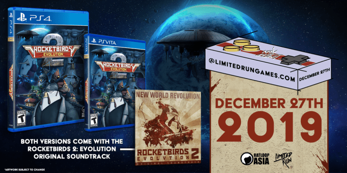 Rocketbirds 2 Limited Run PS Vita