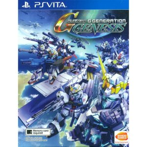 SD Gundam G Generation Genesis (English Subs) PS Vita