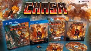Chasm en édition physique limitée sur PS Vita