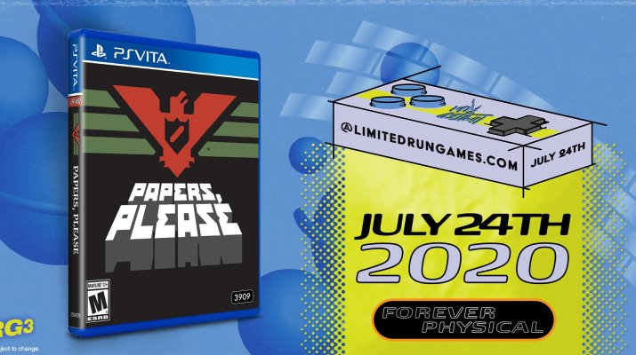 Papers Please Limited Run PS Vita