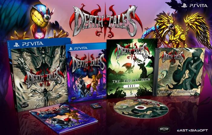 Death Tales PS Vita