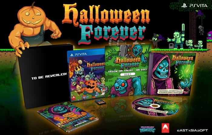 Halloween Forever en édition physique limitée sur PS Vita