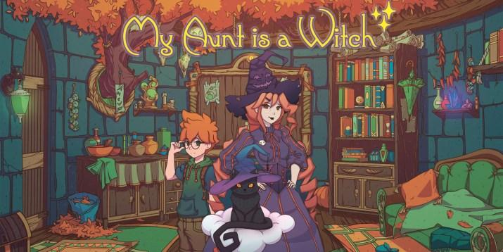 Le visual-novel My Aunt is a Witch est disponible dès aujourd'hui sur PS Vita