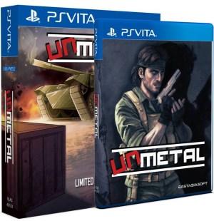 UnMetal en version boite PS Vita