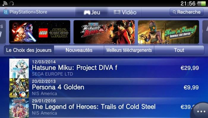Fermeture PlayStation Store PS Vita PSP PS3