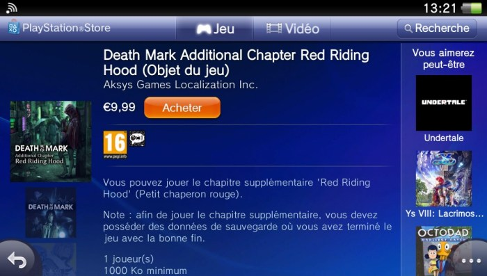 Death Mark DLC