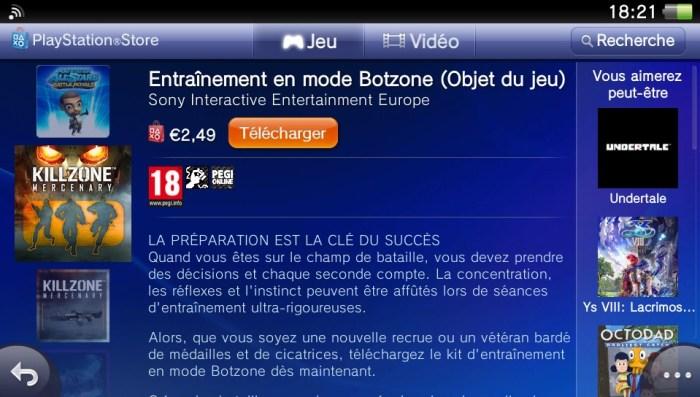 Killzone DLC PS Vita