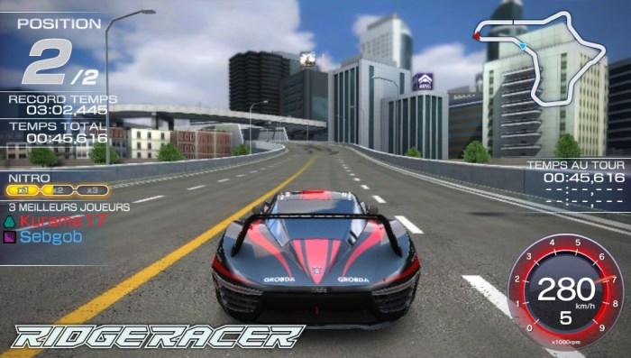 Test Ridge Racer PS Vita