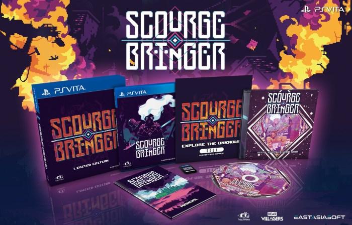 ScourgeBringer édition physique limitée PS Vita