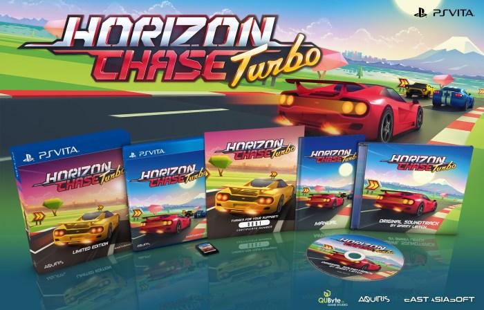 Horizon Chase Turbo édition physique limitée PS Vita