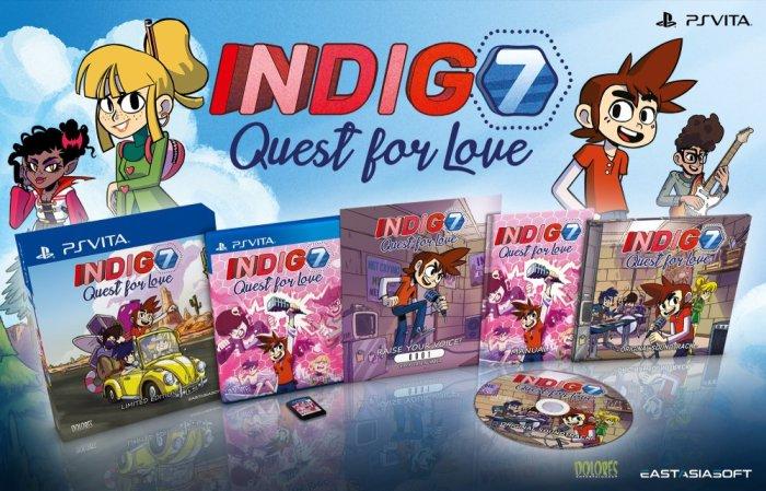 Indigo7 édition physique limitée PS Vita