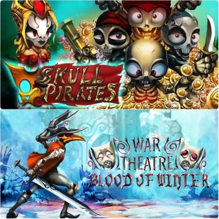 Skull Pirates et War Theatre Blood of Winter