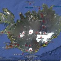 Impacts de la seconde éruption du volcan Eyjafjöll en Islande