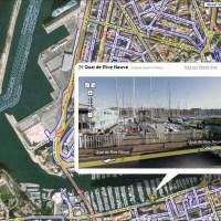 Se promener virtuellement dans les villes françaises sur Google Maps...
