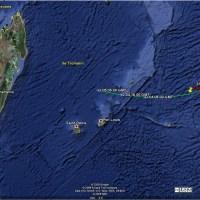 Tempête tropicale modérée GAEL dans le SW de l'océan Indien