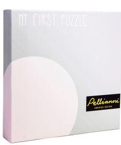 Pellianni Round Puzzle - Mustár2