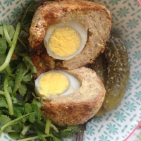Vegetarian slimming world scotch eggs