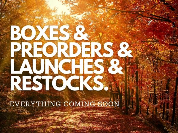 SEPTEMBER 2020 – EVERYTHING COMING SOON