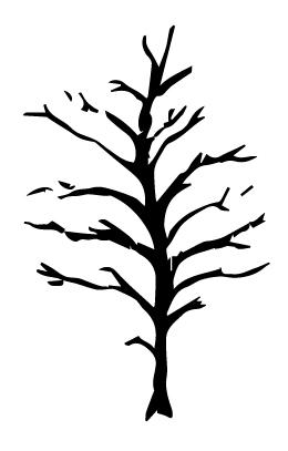 Vector Dark Tree
