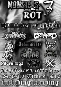 Monsters Of Rot III Promo Poster