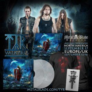 Tyr 'Valkyria' Promo Artwork
