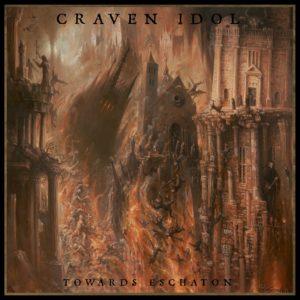 craven idol - towards eschaton - album cover
