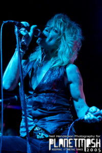 Michael Monroe playing at the Cathouse Glasgow