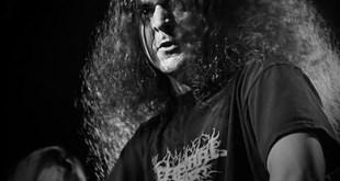 Zombified vocalist Pete Clarke