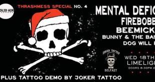 Mental Deficiency – Limelight 2, Belfast – 19 December 2013