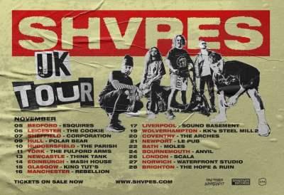 SHVPES - Tour Poster
