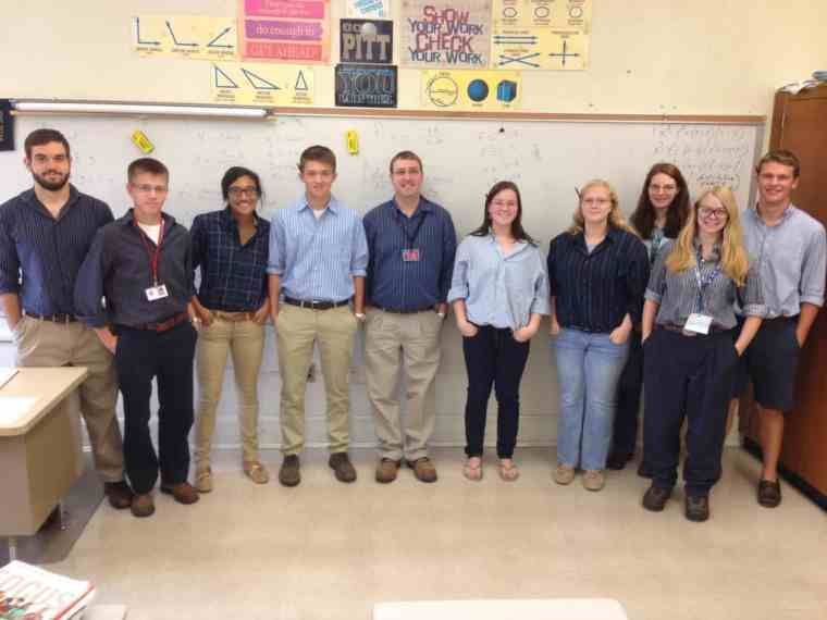 Mr. Sikora and his class of Sikoras