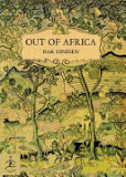 the cover of Out of Africa