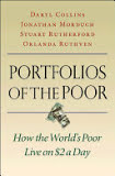 the cover of Portfolios of the Poor