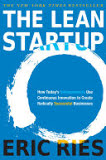 the cover of The Lean Startup