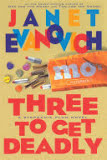the cover of Three to Get Deadly