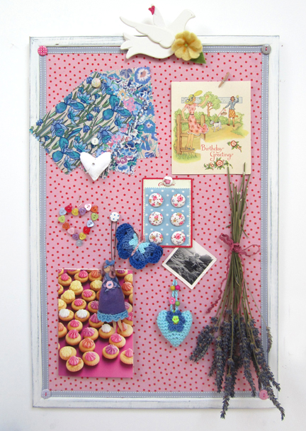 pinboard full of prettiness