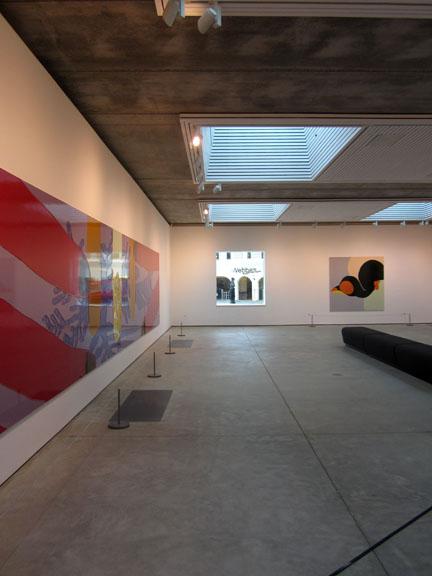 Inside Jerwood Gallery, Hastings