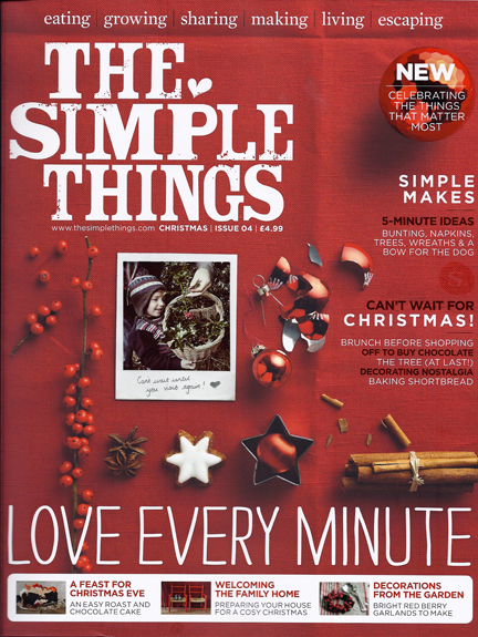 The Simple Things - Advent Calendar Day 9