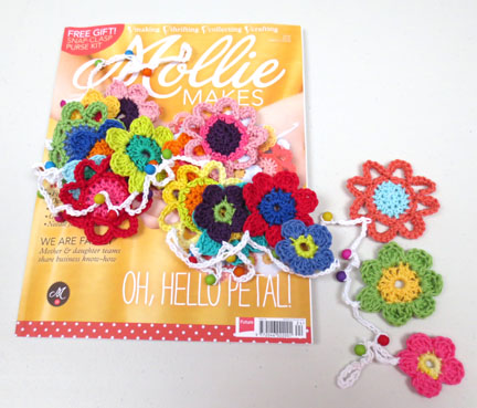 Mollie Makes issue 24 with garland