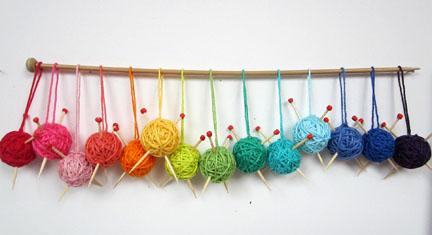 Christmas balls - Knitters Mobile