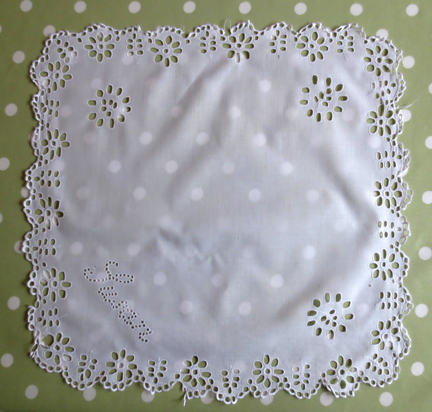 cutwork cloth