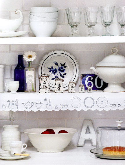 Shelf edging - The Hand-Made Home