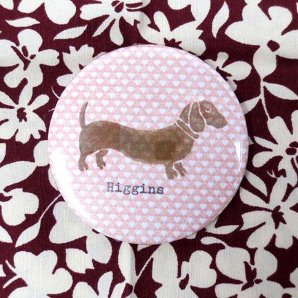 Higgins Mini dachshund Mirror